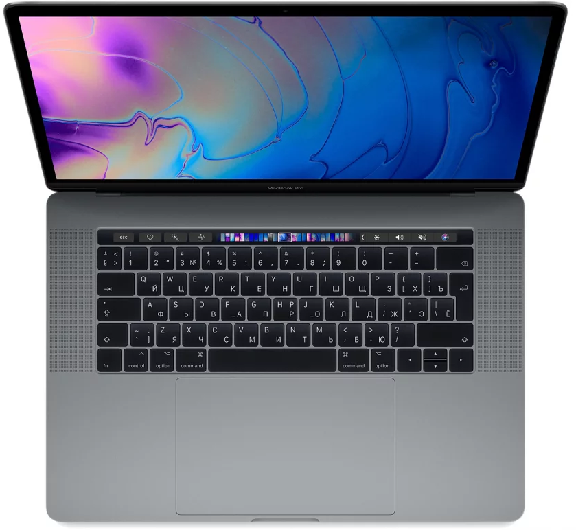 "Ноутбук Apple MacBook Pro 15"" 256GB Touch Bar Mid 2018 (MR932) Серый космос"
