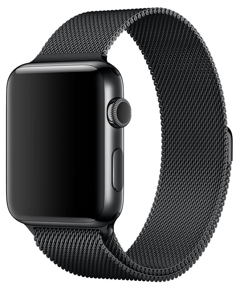Ремешок для Apple Watch 38mm Milano - Black, слайд 2