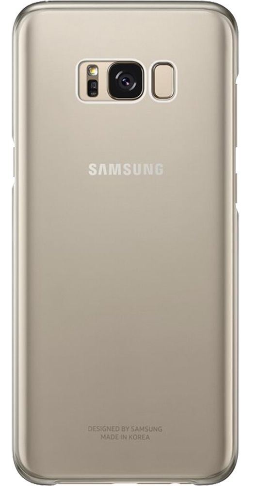 Чехол Samsung Galaxy S8+ Clear Cover - Gold, картинка 1