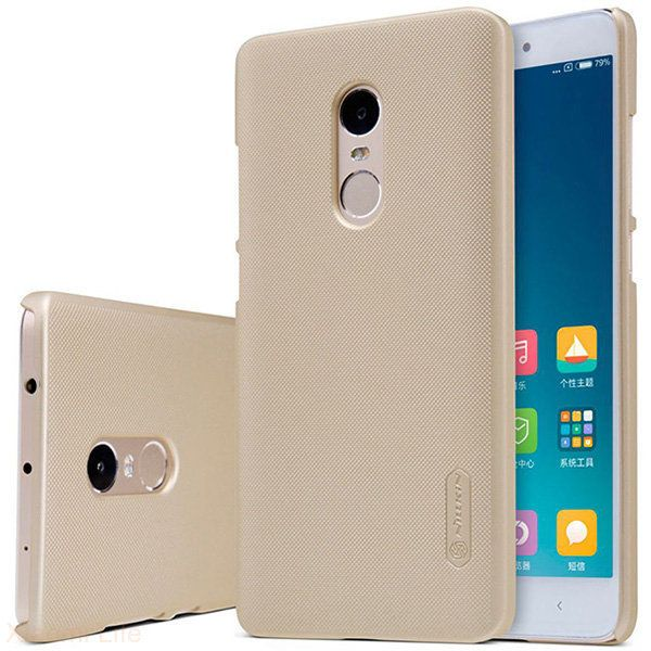 Чехол Nillkin Frosted Shield Xiaomi Note 4X - Gold