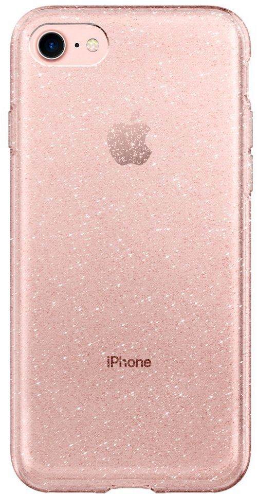 Чехол SGP iPhone 7 Liquid Crystal Glitter Rose Crystal, картинка 3