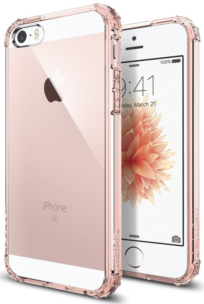 Чехол SGP  iPhone 5S/SE  Crystal Shell - Rose Crystal, картинка 1