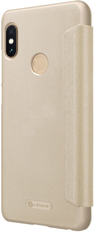 Чехол Nillkin Sparkle Leather case Xiaomi Note 5 - Gold, картинка 2