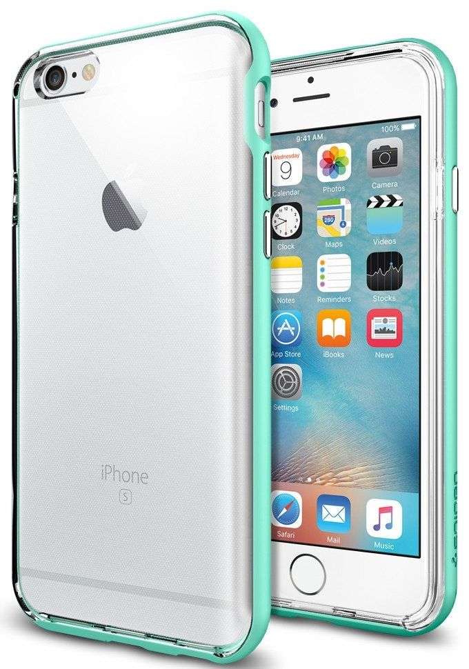 Чехол SGP iPhone 6S Neo Hybrid EX - Mint