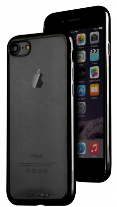 Чехол VIVA iPhone 7 Metalico Flex Case TPU Jet Black