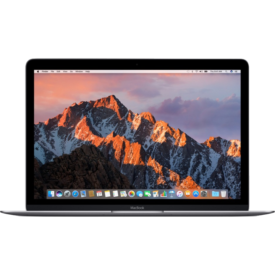 "Ноутбук Apple MacBook 12"" Retina 256 SSD Space Gray (MLH72), картинка 2"