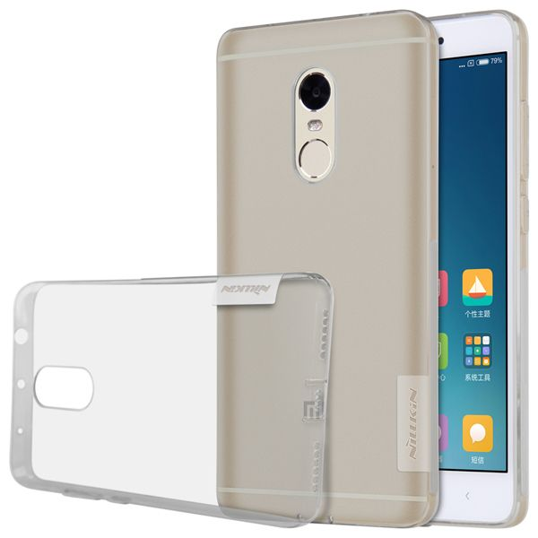 Чехол силиконовый Nillkin TPU case Xiaomi Note 4X - Grey