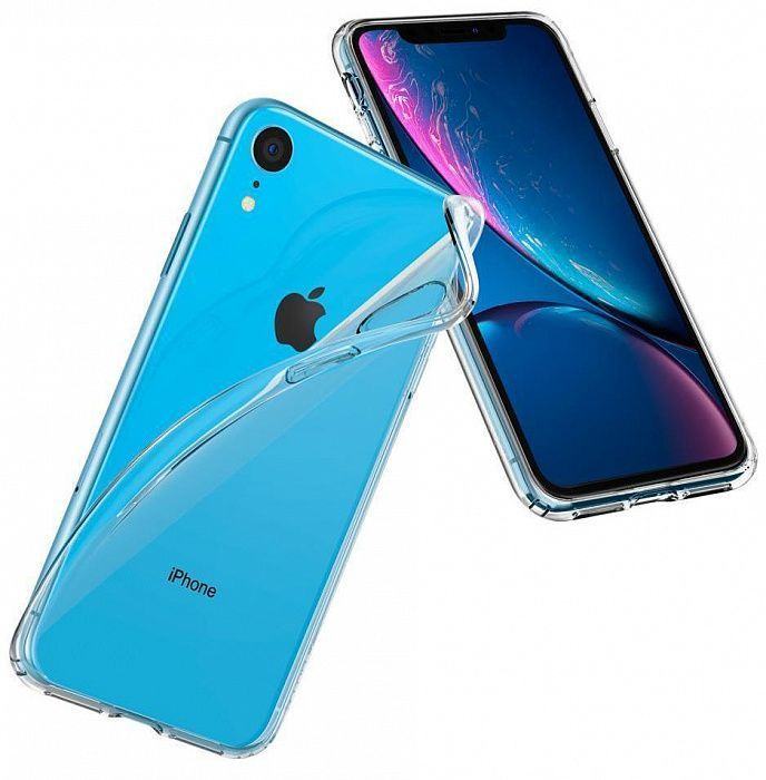 Чехол SGP iPhone XR Crystal Flex Crystal Clear, картинка 5