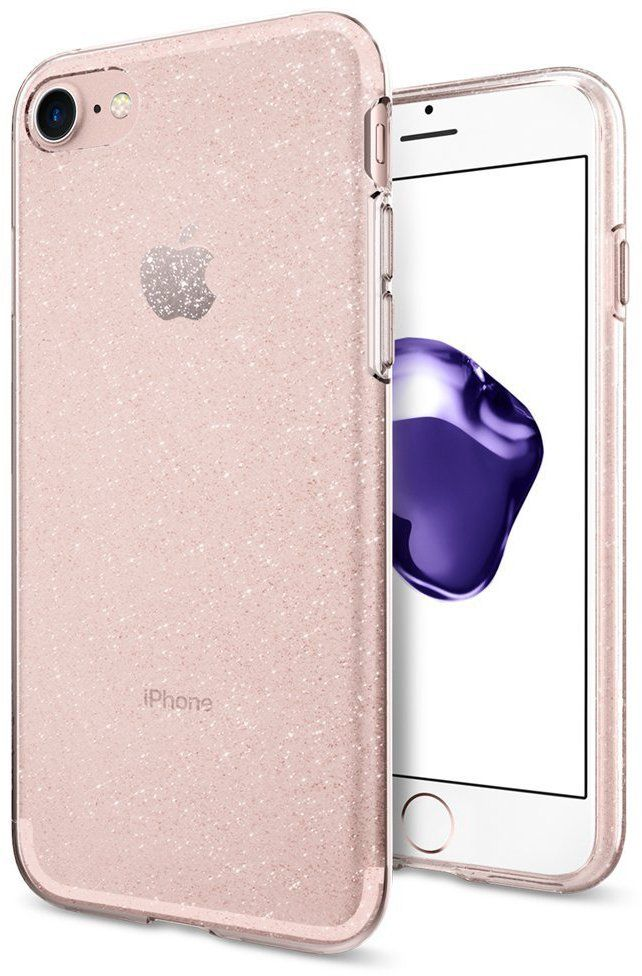 Чехол SGP iPhone 7 Liquid Crystal Glitter Rose Crystal, картинка 1