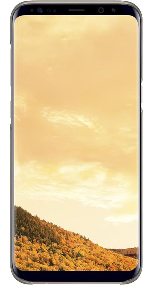 Чехол Samsung Galaxy S8+ Clear Cover - Gold, картинка 3