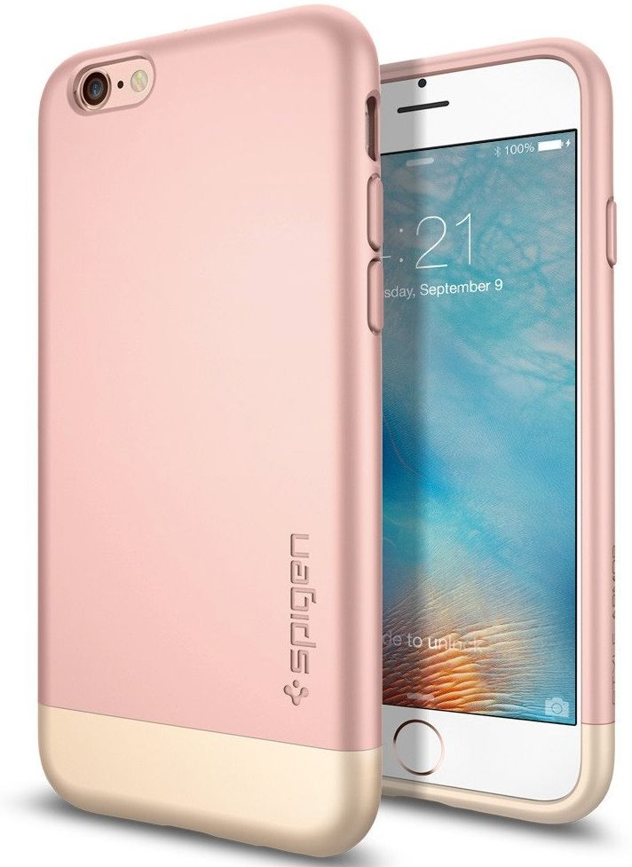 Чехол SGP iPhone 6S Style Armor - Rose Gold