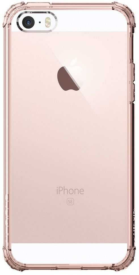Чехол SGP  iPhone 5S/SE  Crystal Shell - Rose Crystal, картинка 2