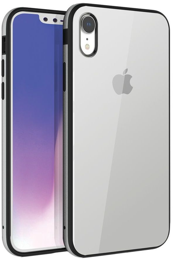 Чехол UNIQ iPhone XR Valencia Clear серебриcтый