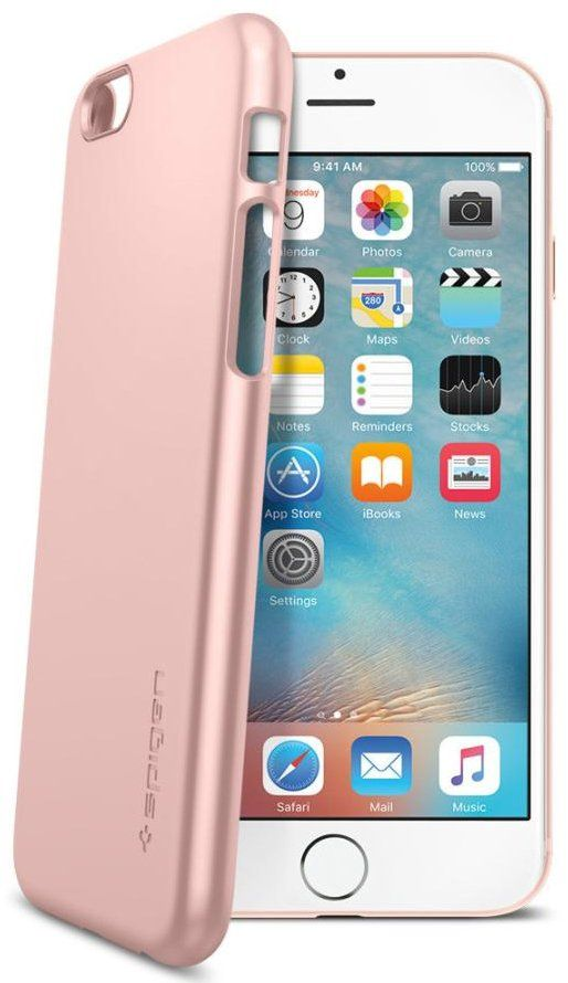 Чехол SGP iPhone 6S Thin Fit - Rose, картинка 2