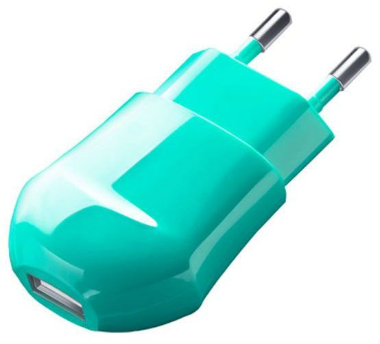 СЗУ Deppa Classic USB Wall Charger 1.0A - Green, картинка 1
