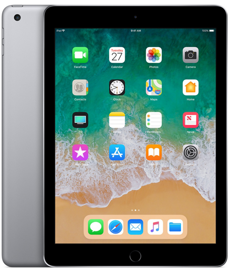 Планшет Apple iPad 2018 128GB Wi-Fi - Space Grаy