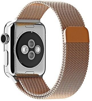 Ремешок для Apple Watch 42/44mm Milanese Golden