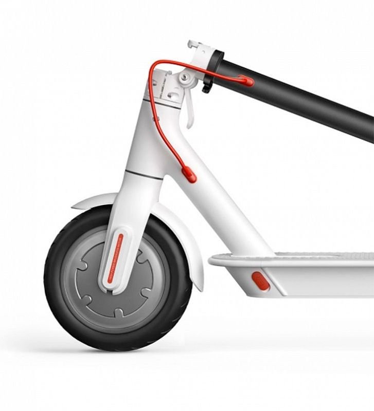 Электросамокат XiaoMi Mijia Electric Scooter M365 белый, слайд 2