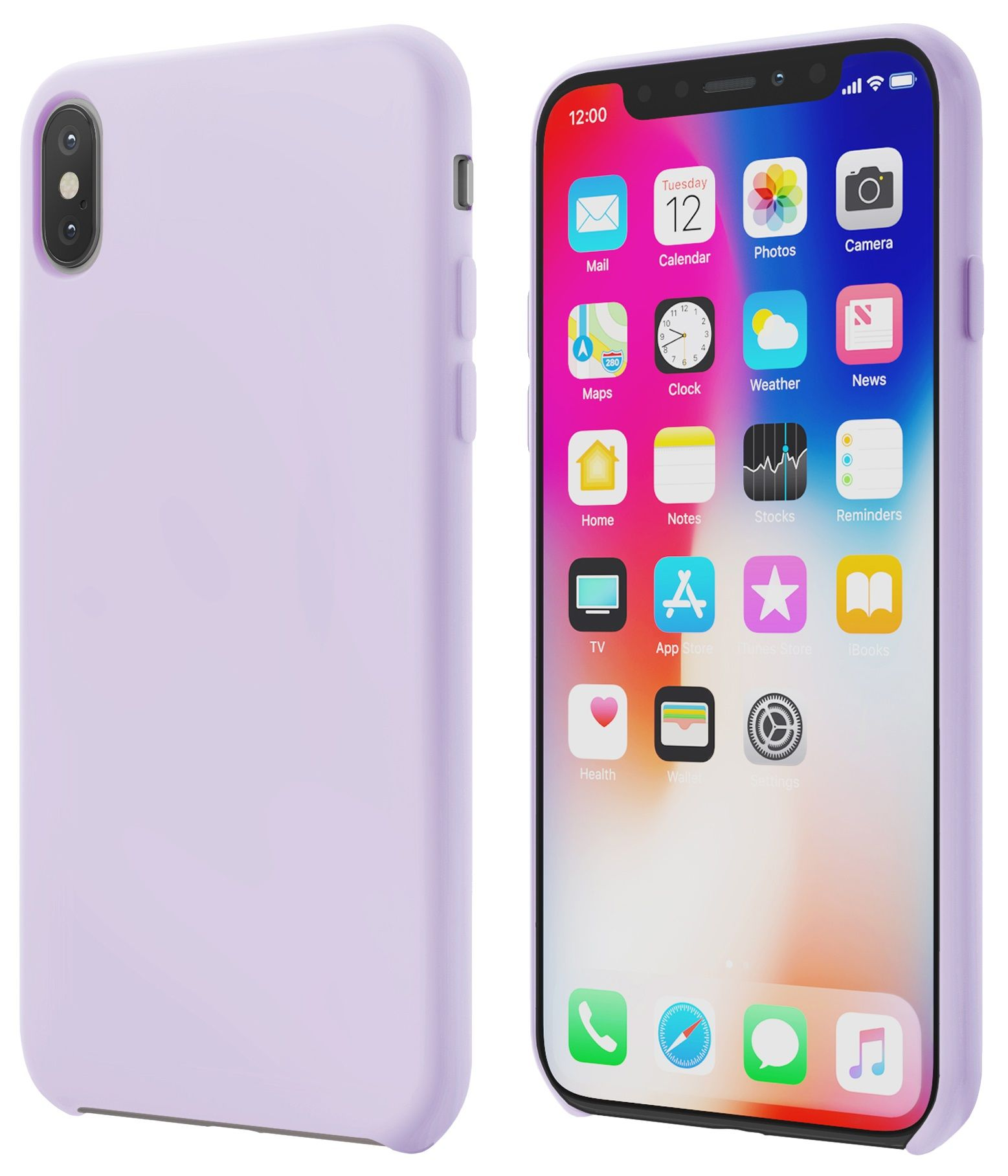 Чехол VIPE Gum Phone X - Purple