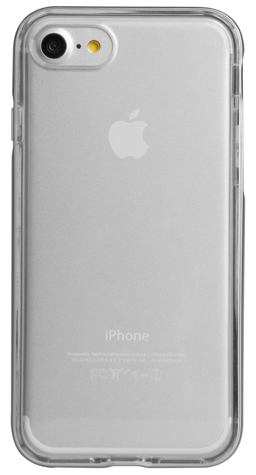 Чехол VIVA iPhone 7 Airefit Borde Case TPU Silver, картинка 1