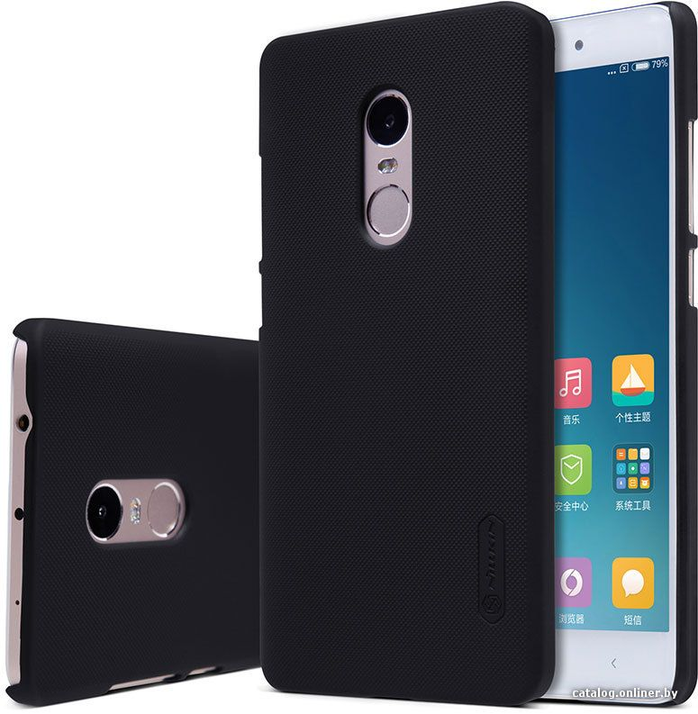 Чехол Nillkin Frosted Shield Xiaomi Note 4X - Black