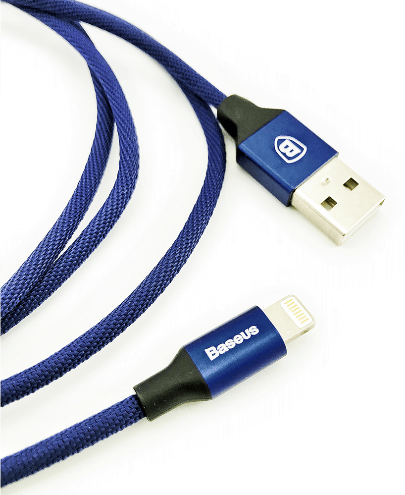 Кабель BASEUS Yiven Lightning Cable 2.0A 1.8m - Navy Blue