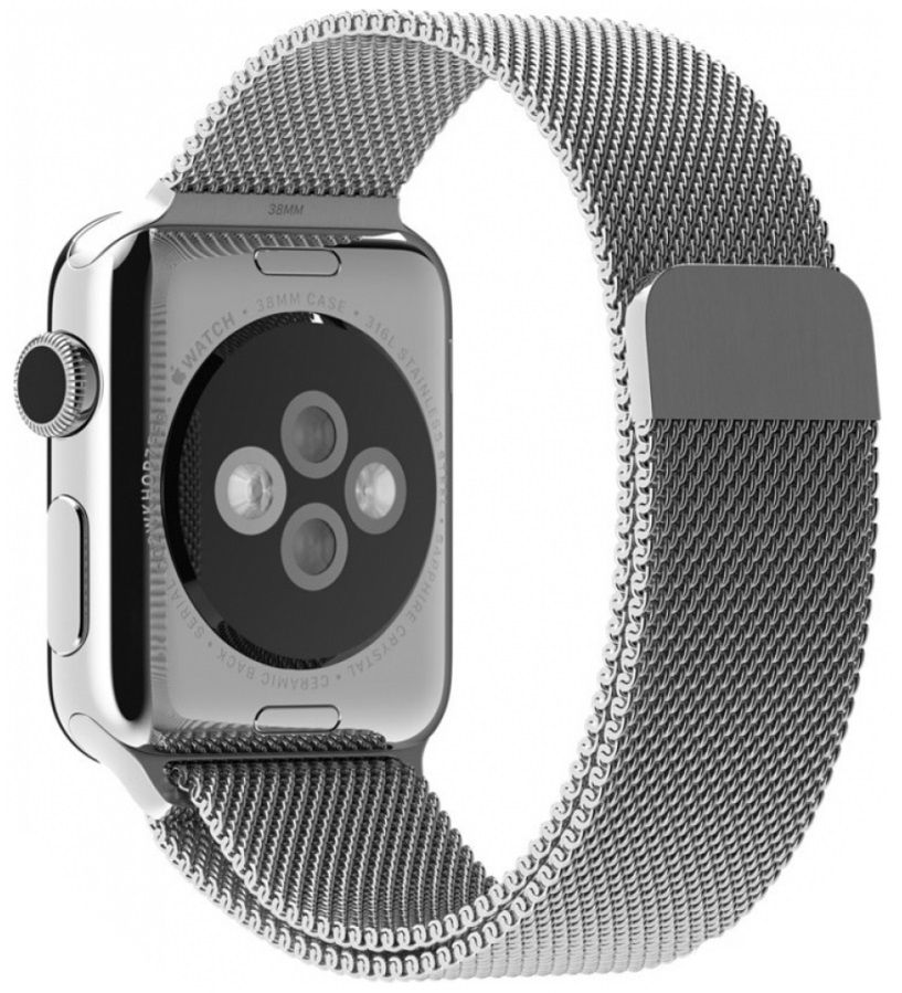 Ремешок для Apple Watch 38/40mm Milanese Silver