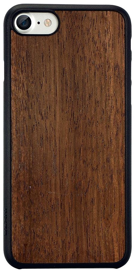 Чехол OZAKI O!coat 0.3+ Wood iPhone 7 - Brown, картинка 1