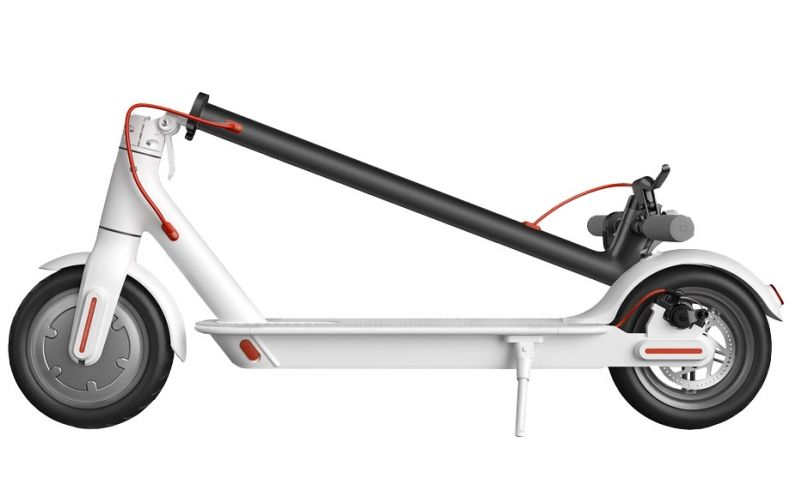 Электросамокат XiaoMi Mijia Electric Scooter M365 белый, слайд 3