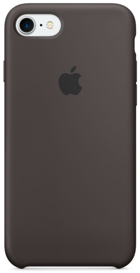 Чехол Apple iPhone 7 Silicone Case Cocoa, картинка 1