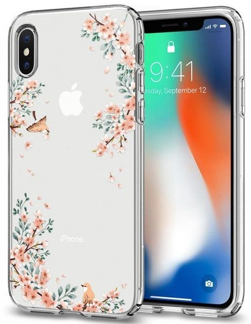 Чехол SGP iPhone X Liquid Crystal Blossom Nature