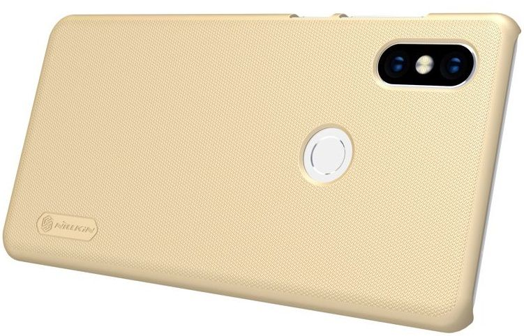 Чехол Nillkin Frosted Shield Xiaomi MIX 2S - Gold, картинка 4