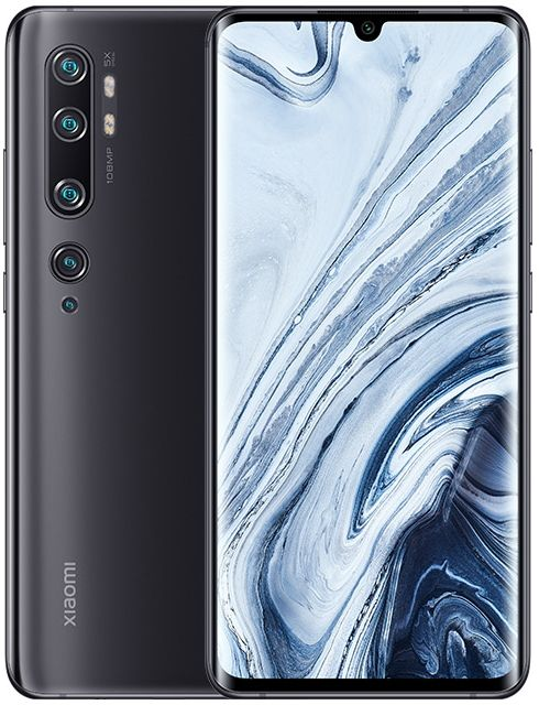 Смартфон Xiaomi Mi Note 10 6/128GB (Black/Черный)