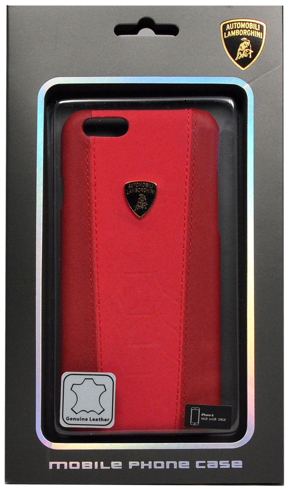 Lamborghini  iPhone 6 Murcielago Hard - Red, картинка 3