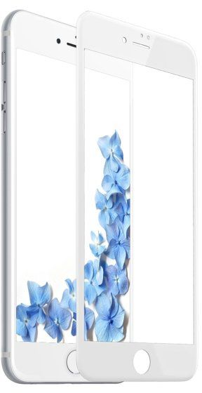 BASEUS 3D Tempered Glass 7 Plus PET - White, картинка 1