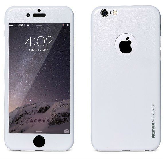 REMAX iPhone 6/6S Apple Skin - White