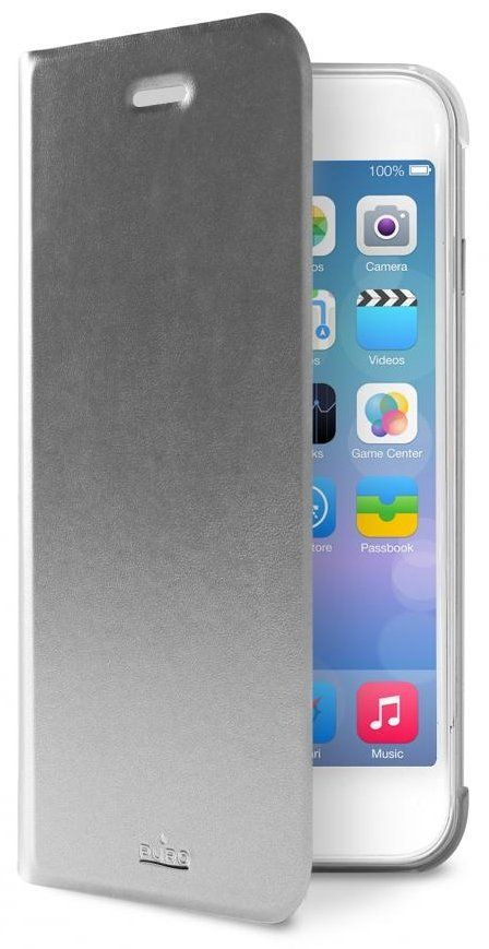 Puro Bookcase iPhone 6 Plus - Silver, картинка 2