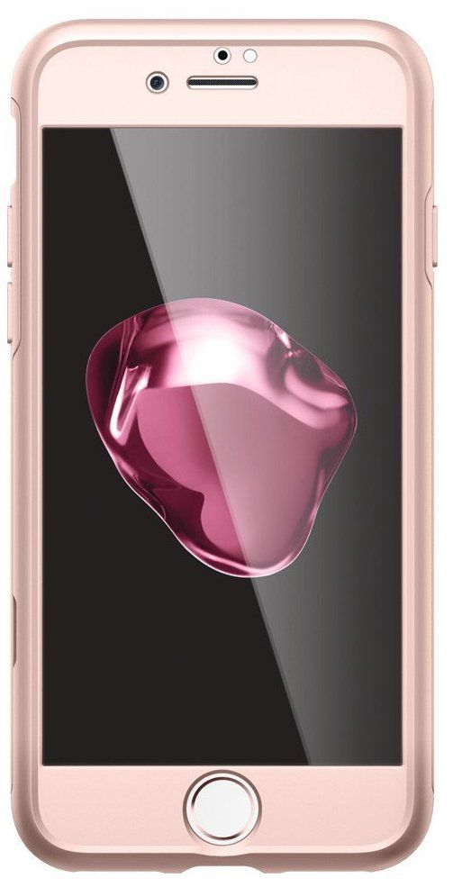 SGP Чехол iPhone 7 Air Fit 360 Rose Gold, картинка 2