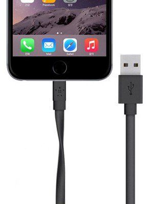 Belkin Mixit Flat Lightning Cable 1.2m - Black, картинка 3