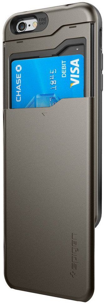 SGP iPhone 6S Slim Armor CS - Gunmetal