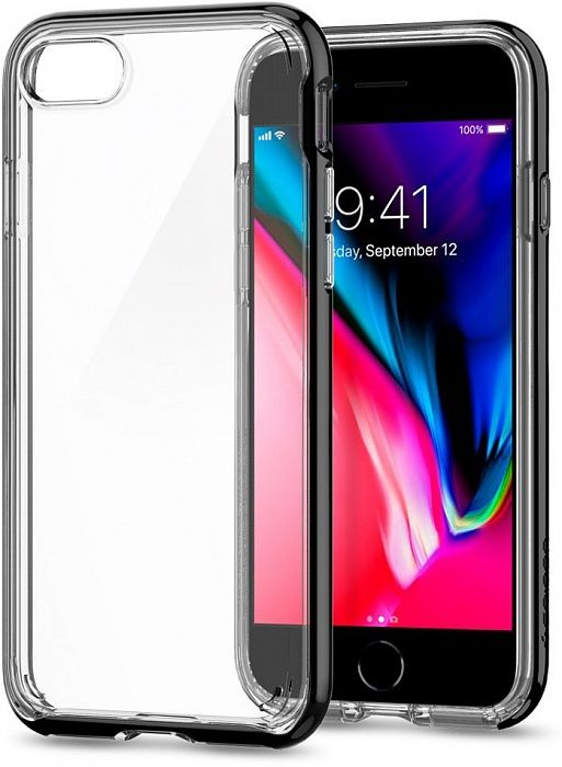 SGP Чехол iPhone 7/8 Plus Neo Hybrid Crystal 2 Gunmetal
