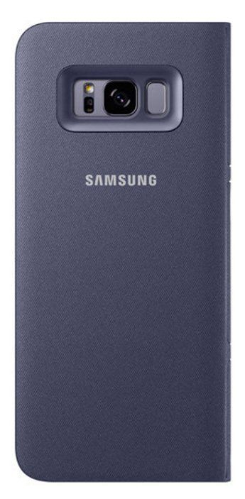Samsung Galaxy S8+ LED View Cover - Violet, картинка 4