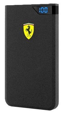 Ferrari Portable Charger 10000 mAh - Black