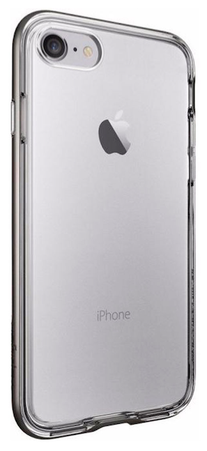 SGP Чехол iPhone 7/8 Neo Hybrid Crystal Gunmetal