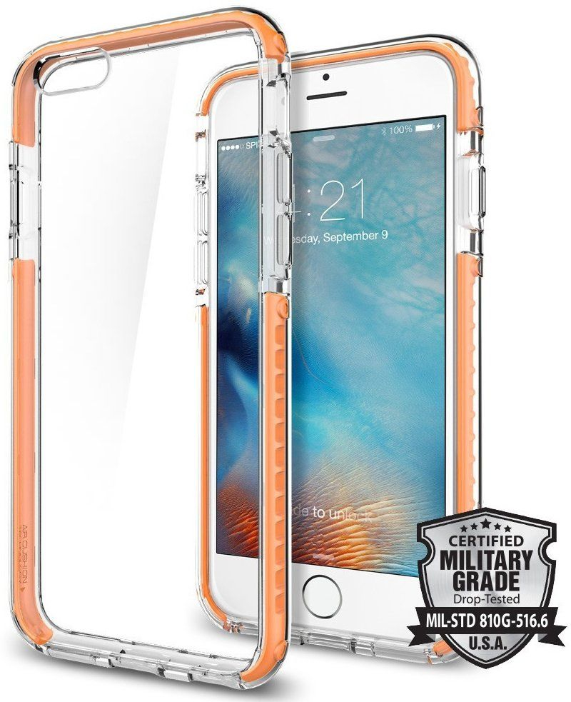 SGP iPhone 6S Ultra Hybrid Tech - Orange