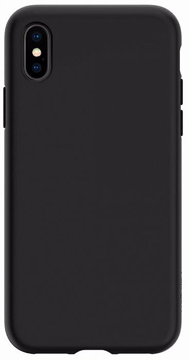 Чехол SGP iPhone X Liquid Crystal Matte Black