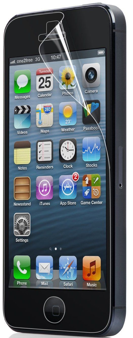Capdase Screen Protector ARIS  iPhone 5S/SE - Глянцевая