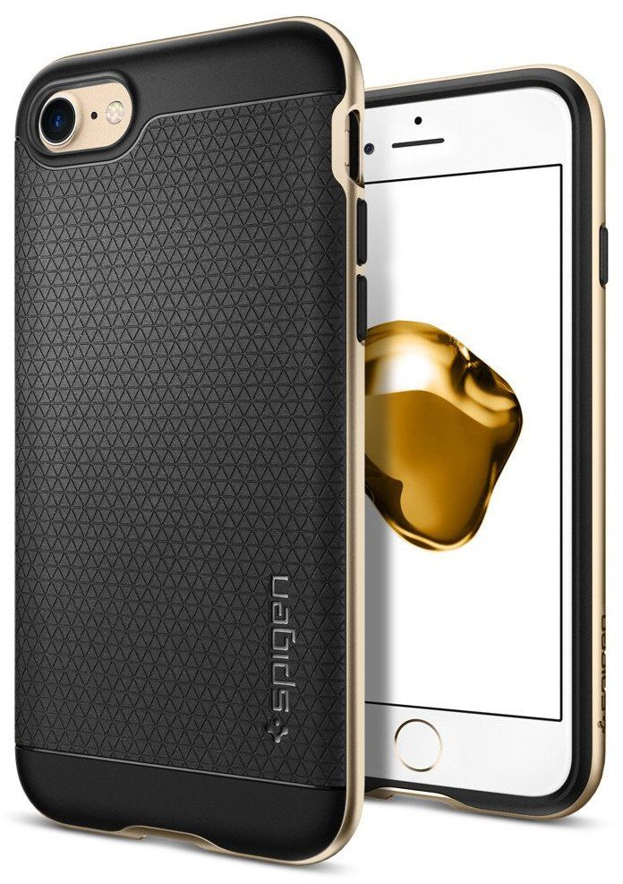 SGP Чехол iPhone 7 Neo Hybrid Champagne Gold