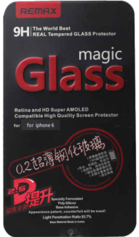 REMAX Magic Glass iPhone 6 - Black, картинка 1