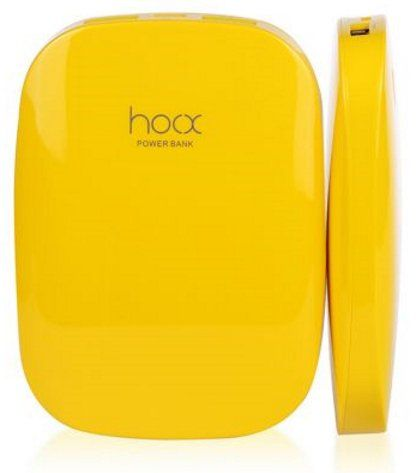 Hoox Magic Stone 6000mAh 2 USB - Yellow, картинка 2